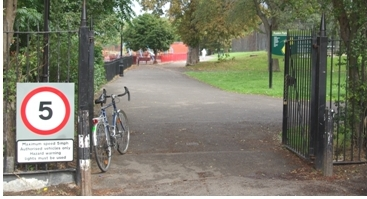 Ruskin Park, SE5 on lambethcyclists.org.uk