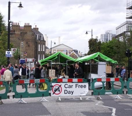 Car free Clapham on lambethcyclists.org.uk
