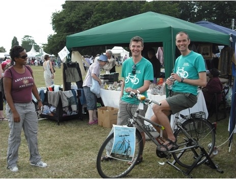 Lambeth Cyclists at the Lambeth Country Show