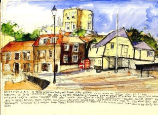 Sketch of Broadstairs on lambethcyclists.org.uk