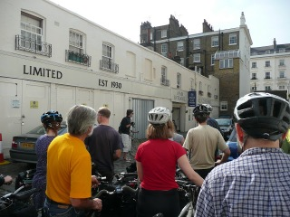 Cubitt ride 1 on lambethcyclists.org.uk