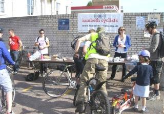 Lambeth Cyclists Bike Breakfast