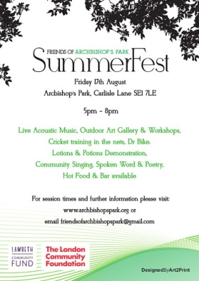 SummerFest flyer 2