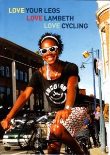 Lambeth cyclist