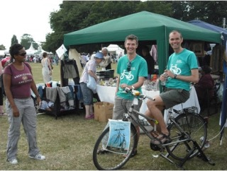 Lambeth Cyclists stall at Lambeth Country Show