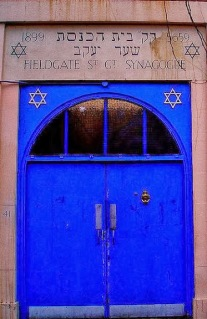 Feldgate St Synagogue on lambethcyclists.org.uk