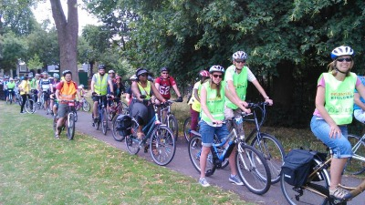 Ride London freecycle cyclists on lambethcyclists.org.uk