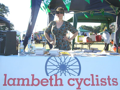 Lambeth Cyclists at the Lambeth Country Show on lambethcyclists.org.uk